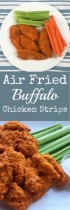 Air Fried Buffalo Chicken Strips