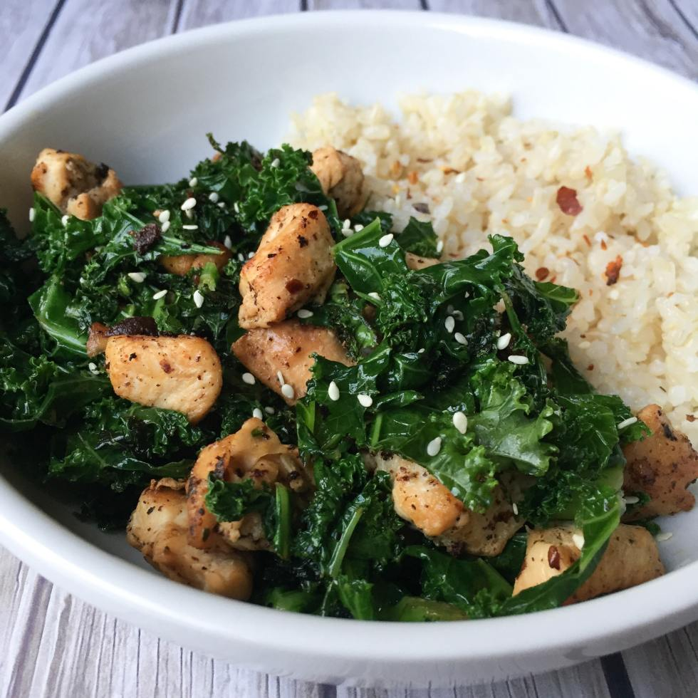 Chicken Kale Stir Fry