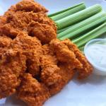 Air Fried Buffalo Chicken Strips: Healthy Comfort Food