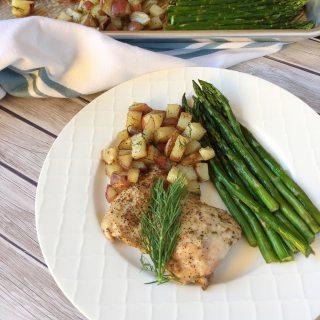 Chicken Sheet Pan Meal