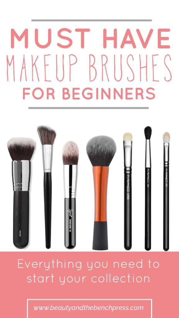 Must Have Makeup Brushes for Beginners - Beauty and the Bench Press
