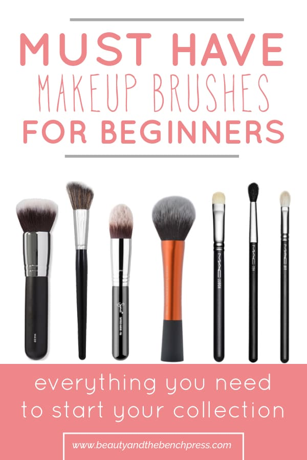 Your complete guide to the best makeup brushes for beginners. These brushes will have you