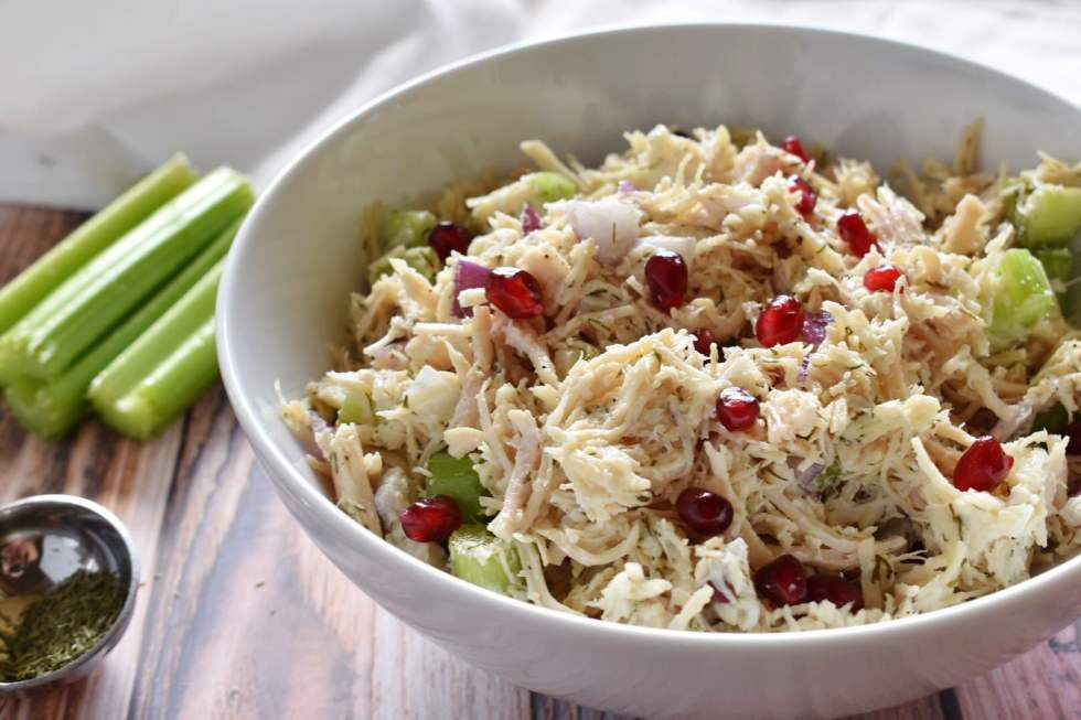 Super Simple Chicken Salad: Easy Low Carb Lunch