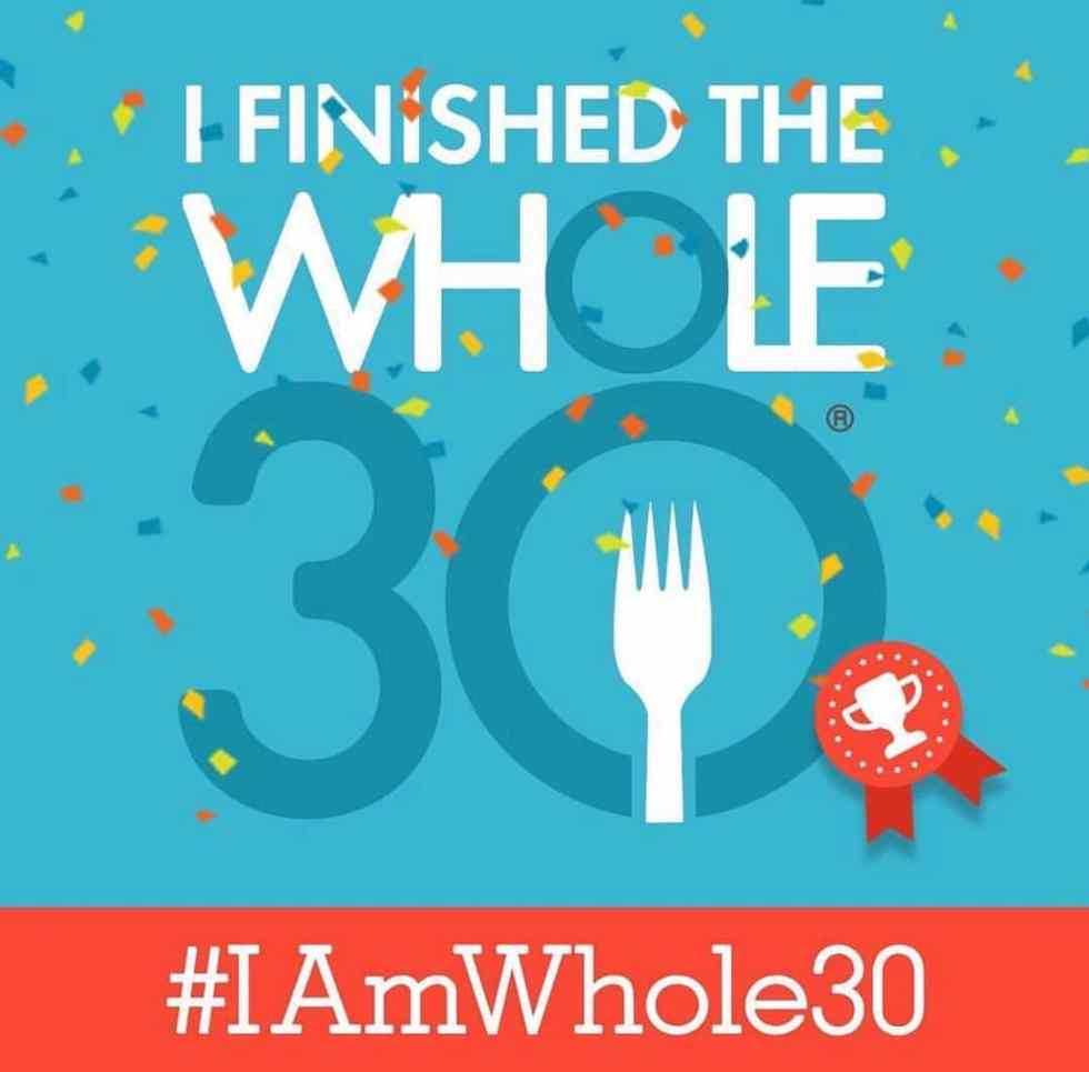 whole30 recap and results