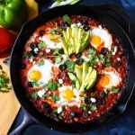 Mexican Style Shakshuka: Keto, Paleo & Whole30 Options