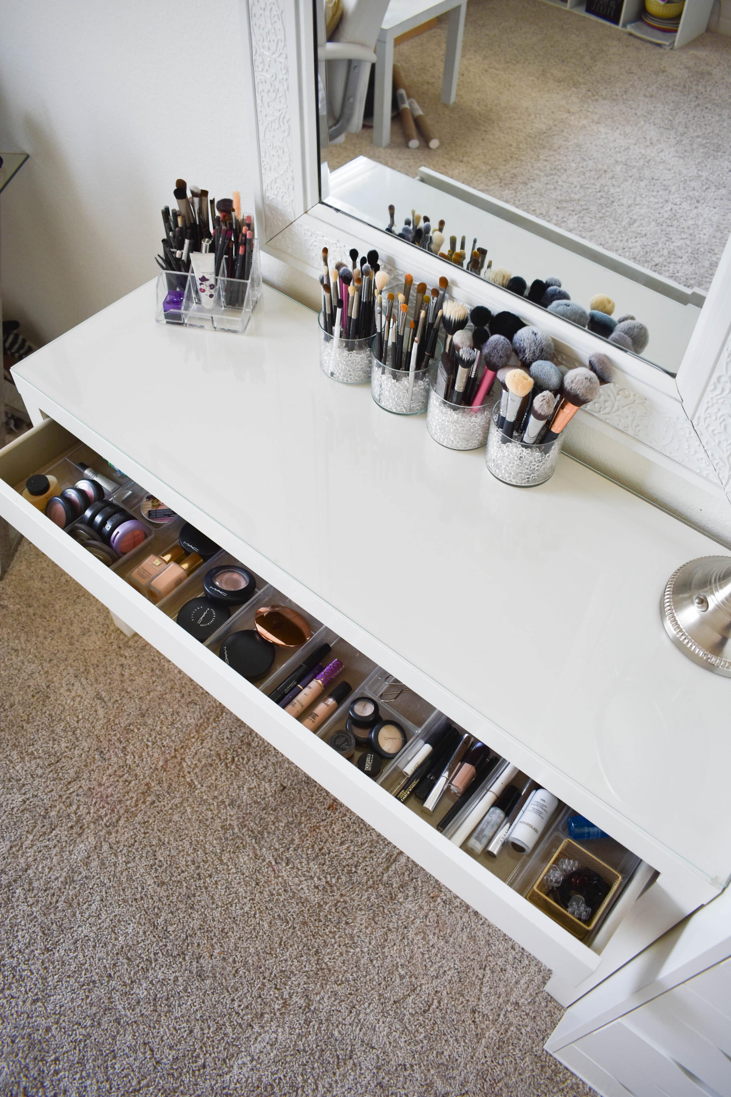 Makeup Storage and Organization Tips and Ideas , Beauty and
