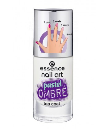Essence Nail Art Pastel Ombr Top Coat 27 Blurry Up