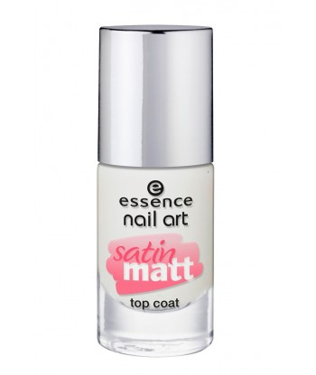 Essence Nail Art Satin Matt Top Coat 26 About You