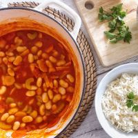 Fasulye | Turkish White Bean Stew Recipe