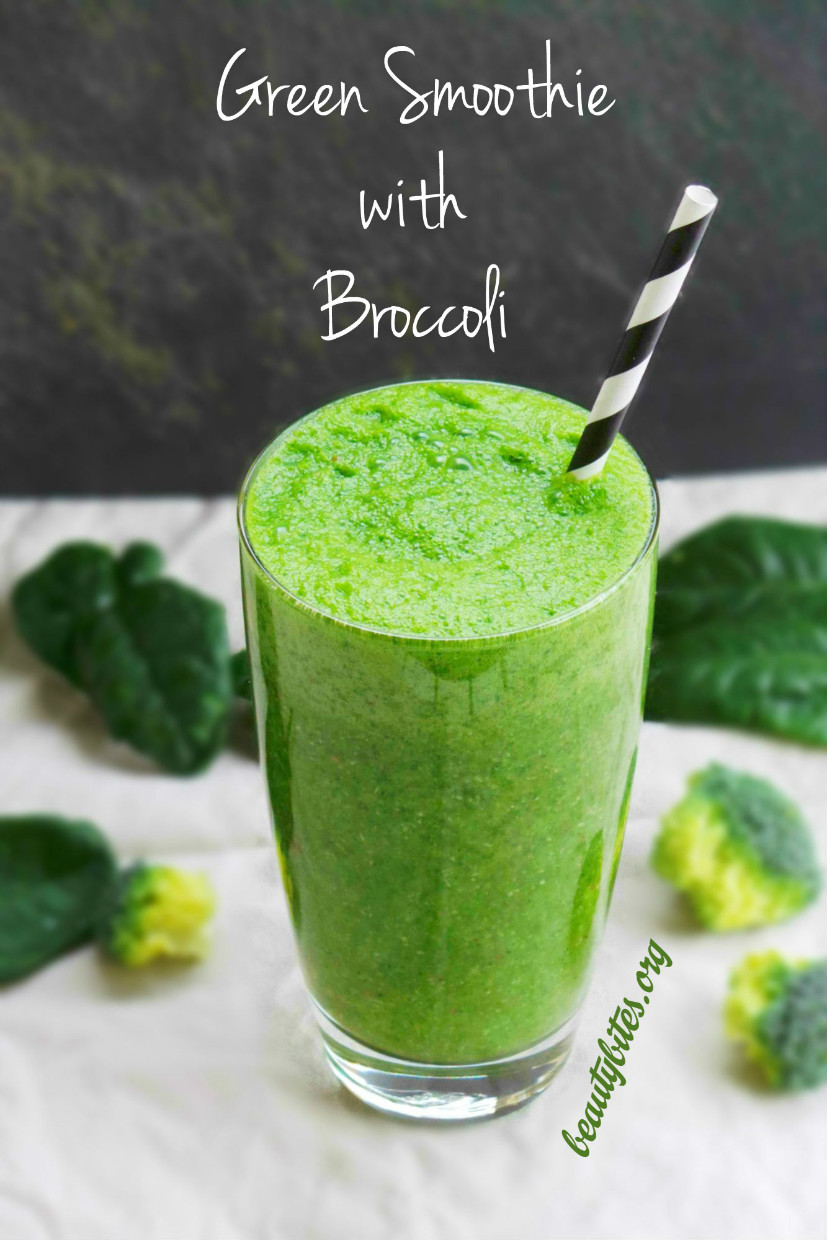 Green Smoothie The Broccoli Experiment