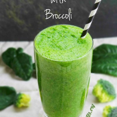 The Green Smoothie Broccoli Experiment