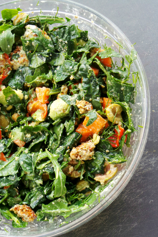 Detox salad for glowing skin - Beauty Bites