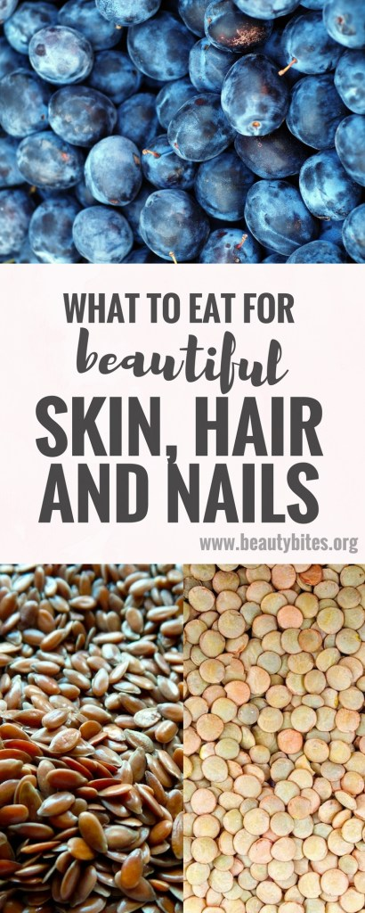 This is a little summary of foods for great skin - to get glowing skin and clear out any skin problems, make sure you eat more of these foods and a variety! When you commit to a diet made entirely from these foods you could get rid of pimples, wrinkles and even cellulite!