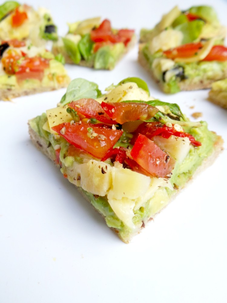 Simple and healthy avocado toast that tastes like pizza and comes together in 5 minutes. Try this easy avocado toast recipe for a quick savory vegan breakfast and forget all your troubles, forget all your cares...