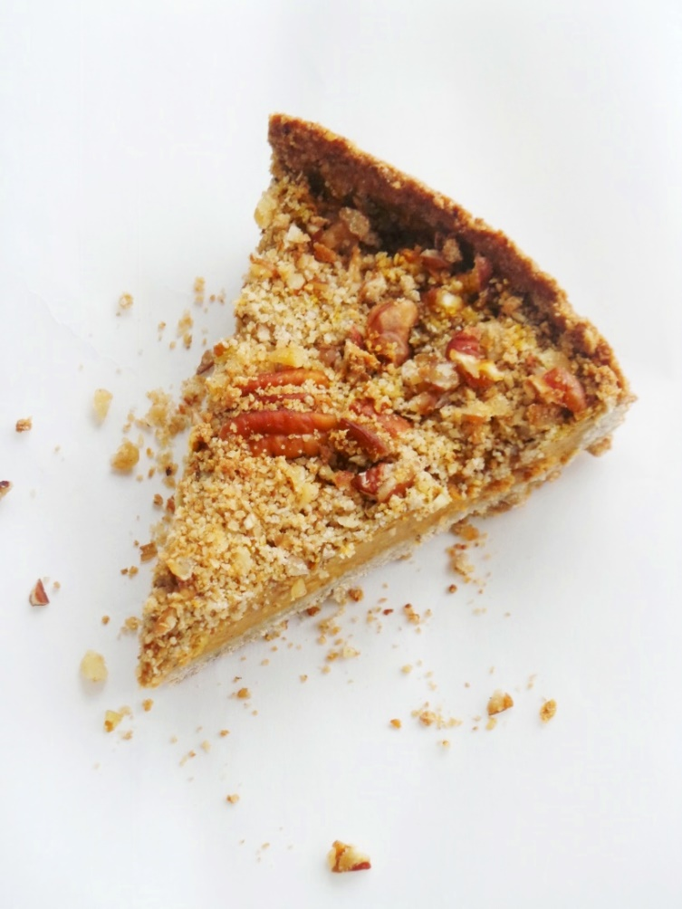 butternut crumble pie
