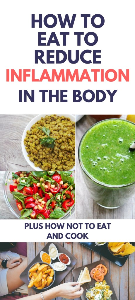 If you want to lose weight, get rid of depression and prevent disease, you might wanna consider changing your diet to get rid of inflammation. Certain foods cause inflammation, but luckily there are also foods that reduce inflammation in the body (aka anti-inflammatory foods). Find out what to eat, what not to eat and how to eat and prepare your food to reduce inflammation and get rid of depression, prevent disease and make weight loss easier!