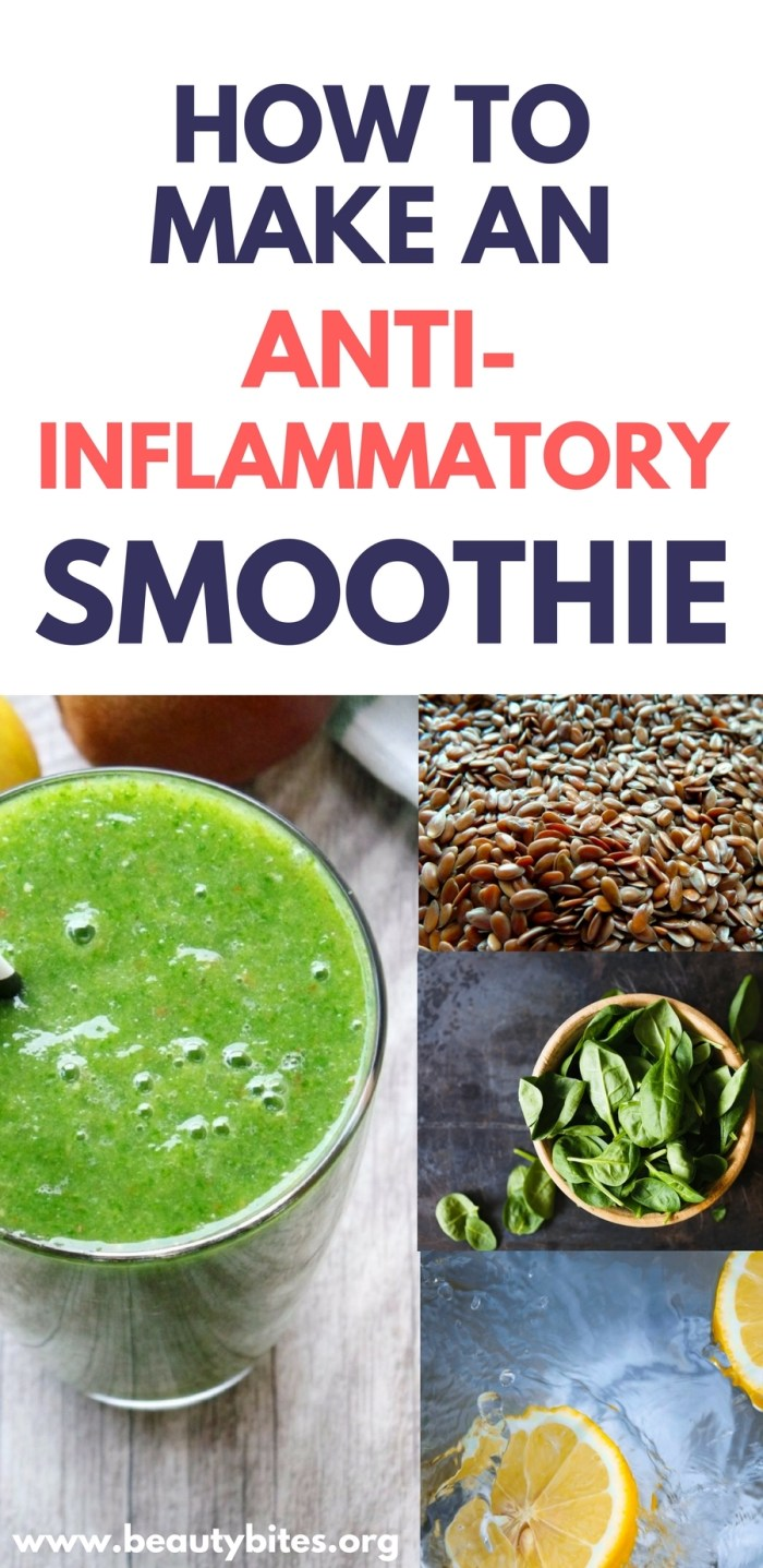 One great habit you can start today to reduce inflammation is to make yourself an anti-inflammatory smoothie every single morning. Follow the steps and make your own anti-inflammatory smoothie today to lose fat, improve your health, feel great, reduce pain and increase energy levels. anti-inflammatory foods   inflammation diet   green smoothie