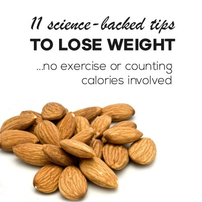The best 11 tips to lose weight easily without exercise and counting calories