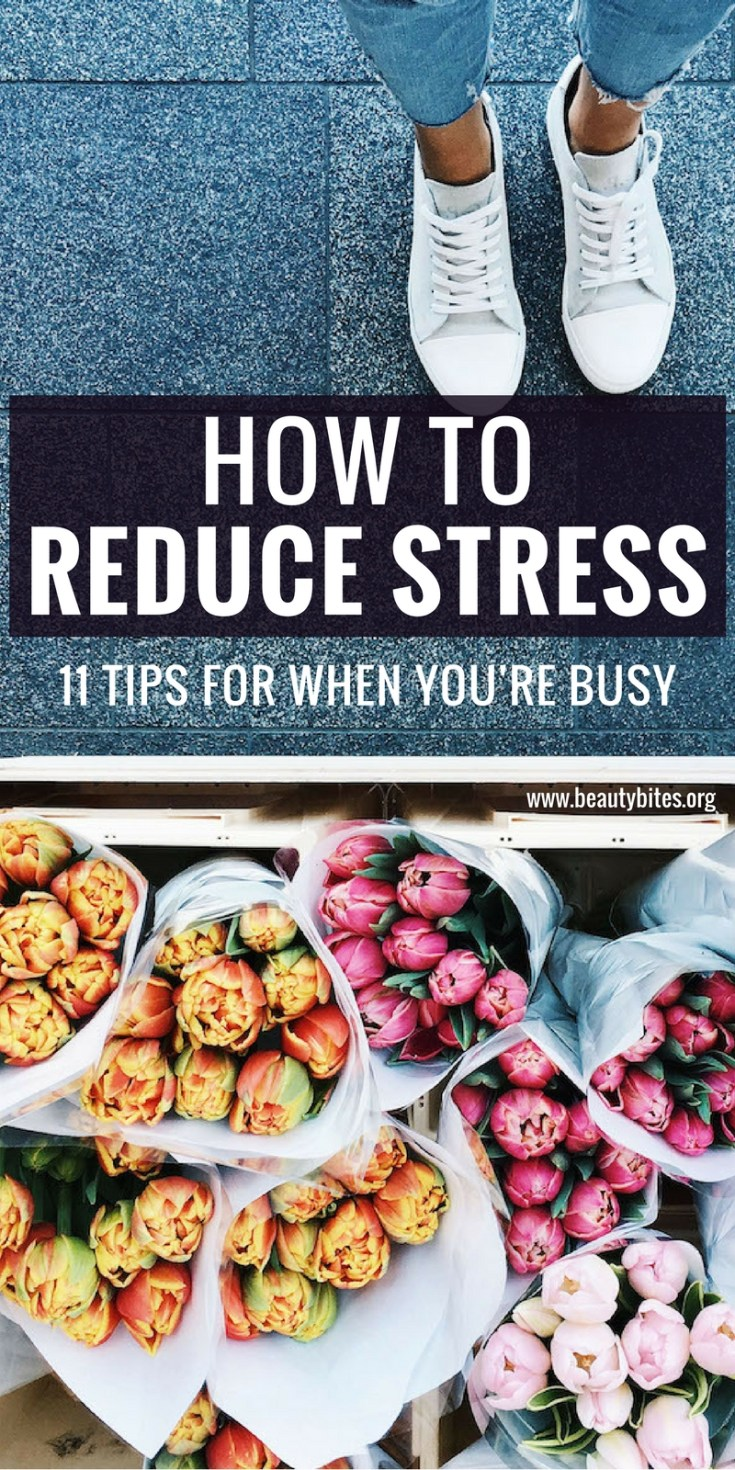 No matter how many items you have on your to do list, find time and do one of the things on this list to reduce stress and feel good every day. It's no secret that constant stress is bad for your health, so don't wait until your next vacation to relax, start today! From foods to reduce stress to classical music pieces to help you relax, these 11 tips are practical and will remind you that it's okay to feel good for a second there, even if your life is not perfect right now.