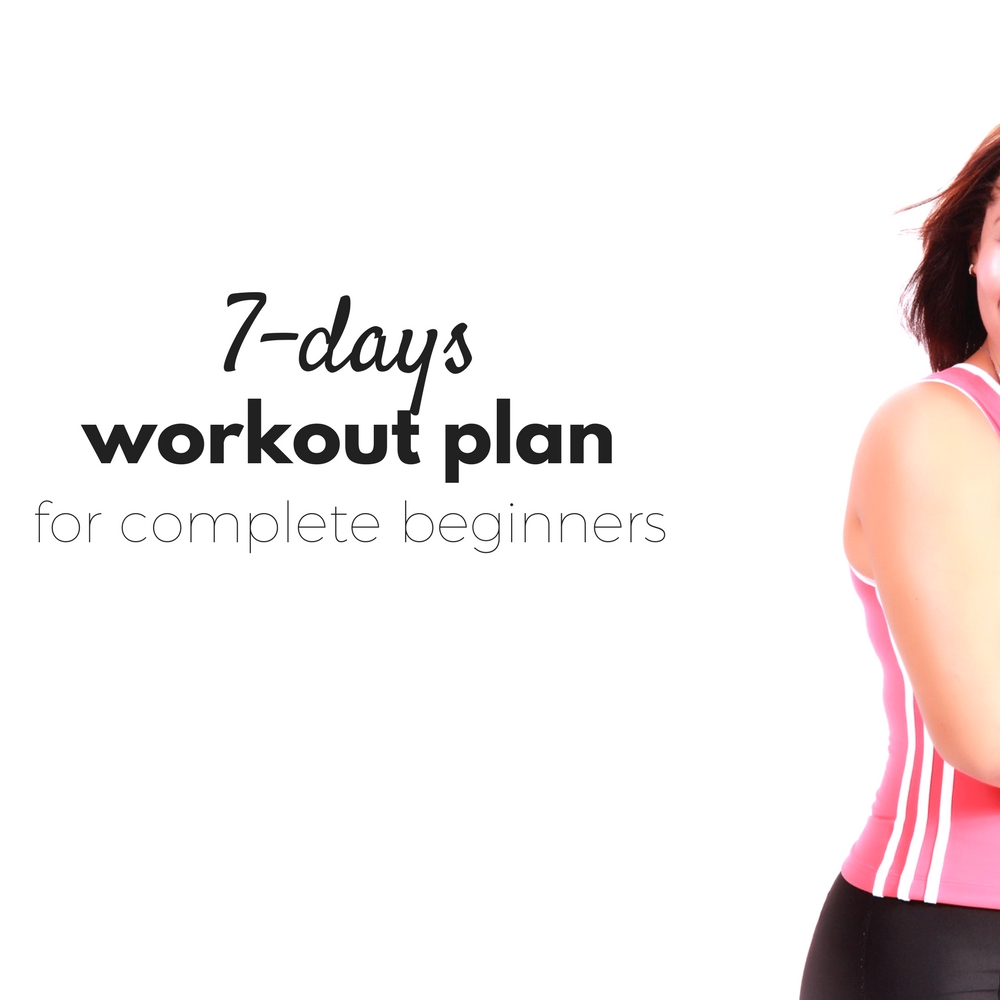 7 Day At Home Workout Plan For Complete Beginners