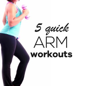 Get rid of arm flab and tone your arms with these quick arm workouts for women that you can do at home, or wherever you want. You need between 4-10 minutes and little to no equipment. For fast results, do these workouts 3-4 times a week. | beautybites.org | Workout motivation