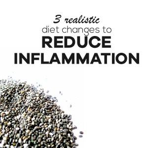 Anti-Inflammatory diet - take these 3 practical steps to reduce inflammation with diet and improve your health! |beautybites.org | Anti inflammation diet | Anti-Inflammatory Eating | Anti-Inflammatory Recipes
