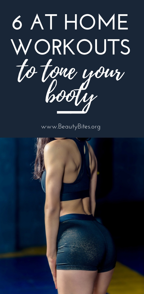 These are the best butt exercises for women! You can do these booty workouts at home and need almost no equipment!