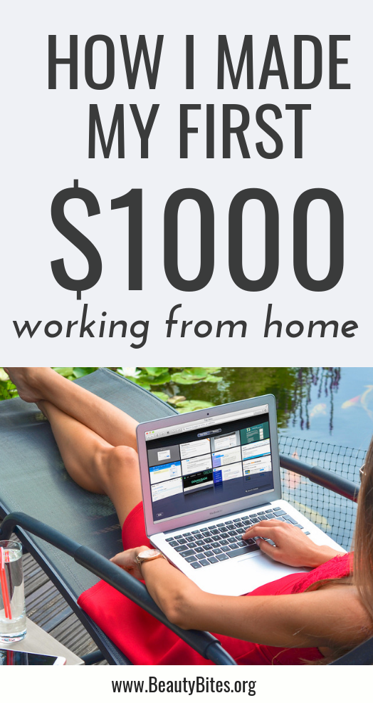 How to make money blogging, specifically your first $1000. In this article I share what it took for me to make my first $1000 with my health and fitness blog and how you can do it too, but faster. These blogging tips would be helpful for beginners and those who are struggling to grow their blog traffic and income. If you apply these ideas and use this simple step by step guide you'll start making money online, from home or pretty much anywhere in the world from your blog within a few months. #blogging #bloggingtips #money #blog