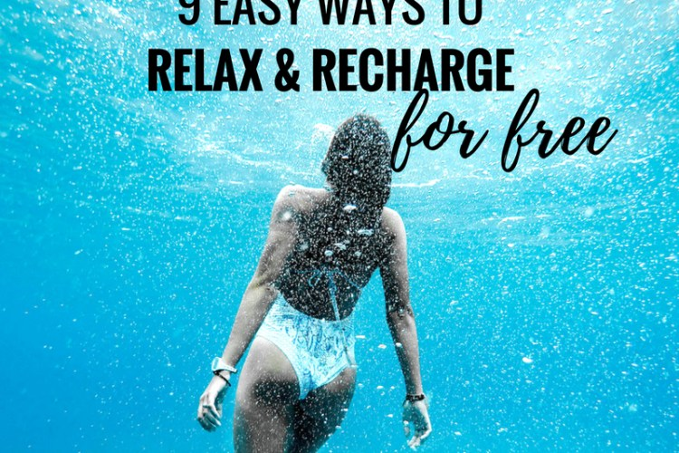 How To Actually Relax And Not Just Feel Useless While Spending A LOT Of Money