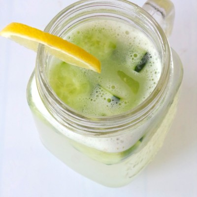 Rejuvenating and Alkalizing Cucumber Water