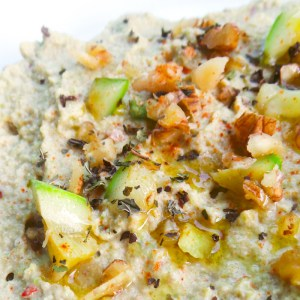 Low Carb Hummus With Zucchini – Vegan, Paleo And Gluten-Free