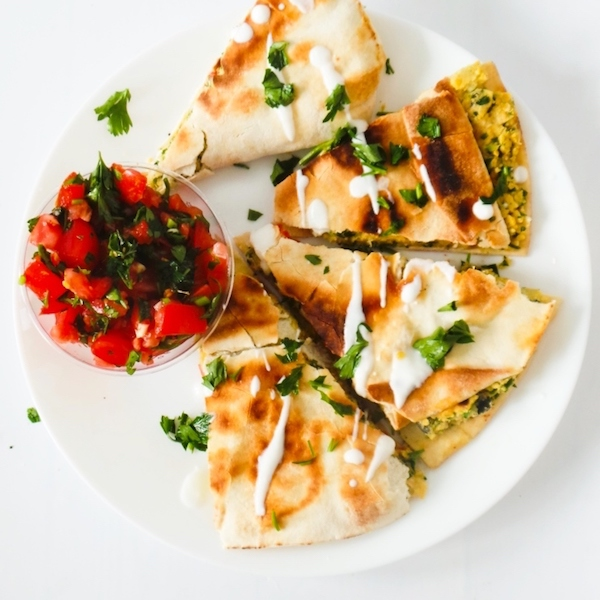 "15-Minute Falafel ""Wraps"" – Vegan & Healthy Recipe"