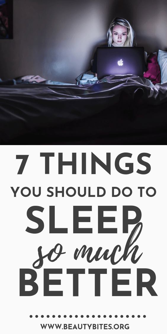 How to sleep better - 7 things you should do. How to create an evening routine that will lead to a restful night! | sleep tips, healthy daily habits