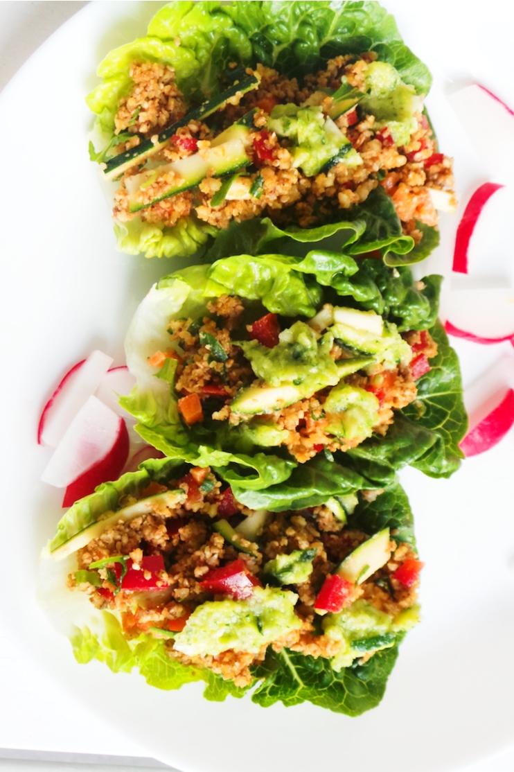 Tasty Lettuce Wraps Recipe | Vegan & Low-Carb