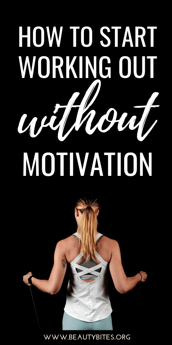 How to start working out without motivation! Discover the best workouts for beginners, workout plans for beginners ft. pilates exercises and barre exercises, the benefits of regular exercise, how much exercise you should do, how to make exercise a daily habit, the mindset and the five steps to take action!