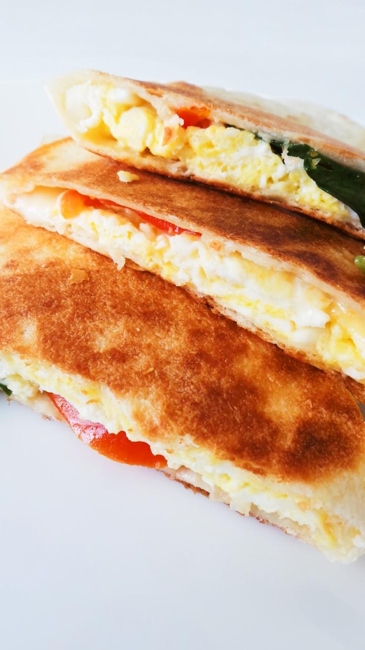 Healthy Breakfast Ideas On The Go - Breakfast Quesadilla Recipe