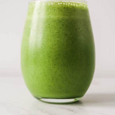 Tropical Green Smoothie For Healthy Digestion And Skin