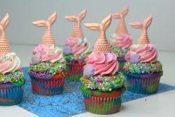 Mermaid Tail Cupcakes recipe