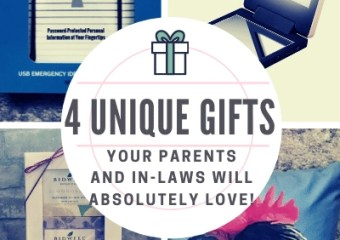 4 Unique Gifts Your Parents And In-Laws Will Absolutely Love