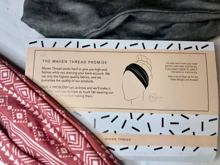 Maven thread head bands