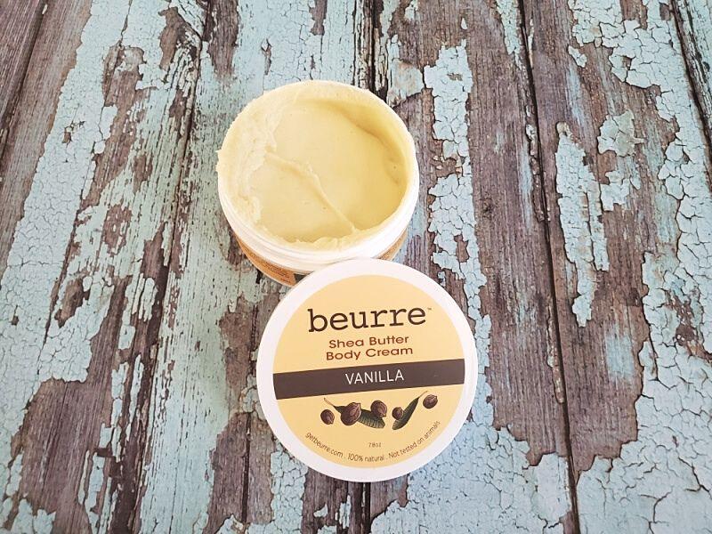 Beurre Shea Butter Body Cream in Vanilla