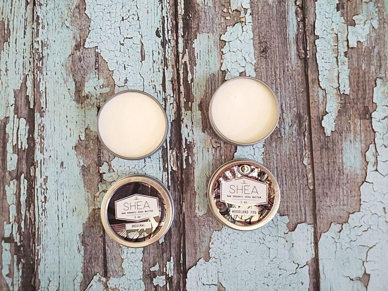 Sheabrand's Shea Butters tins