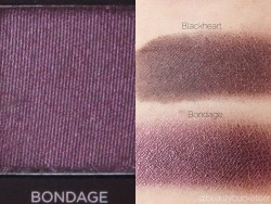 Urban Decay Vice 3 Palette Swatches (Bondage)