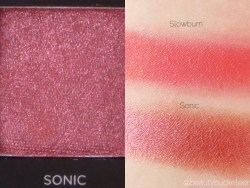 Urban Decay Vice 3 Palette Swatches (Sonic)