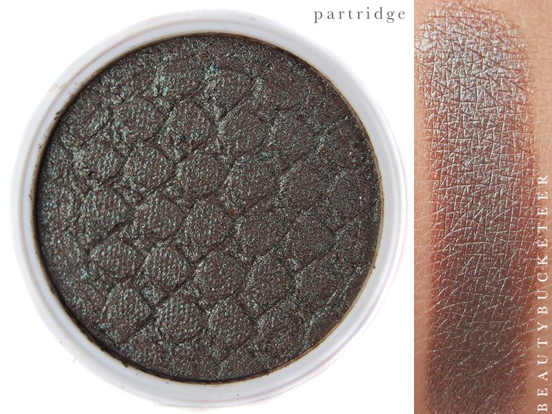 ColourPop Eyeshadows Swatch - Partridge