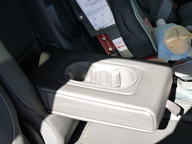 Ford Kuga Compartments