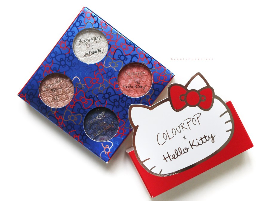 Colourpop x Hello Kitty Mama's Apple Pie Review