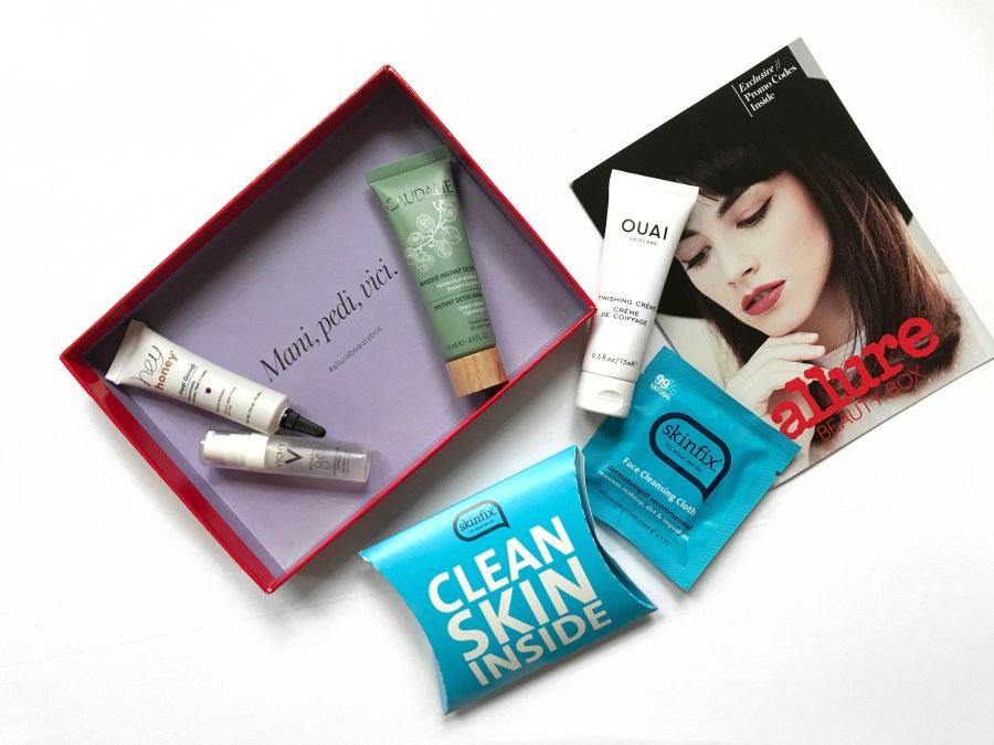 Allure Beauty Box August 2017