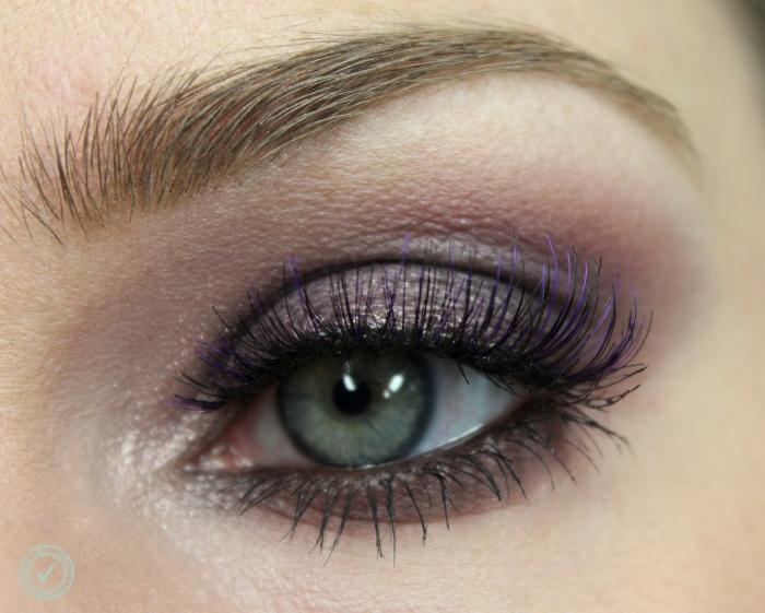 purple smoky eyes makeup