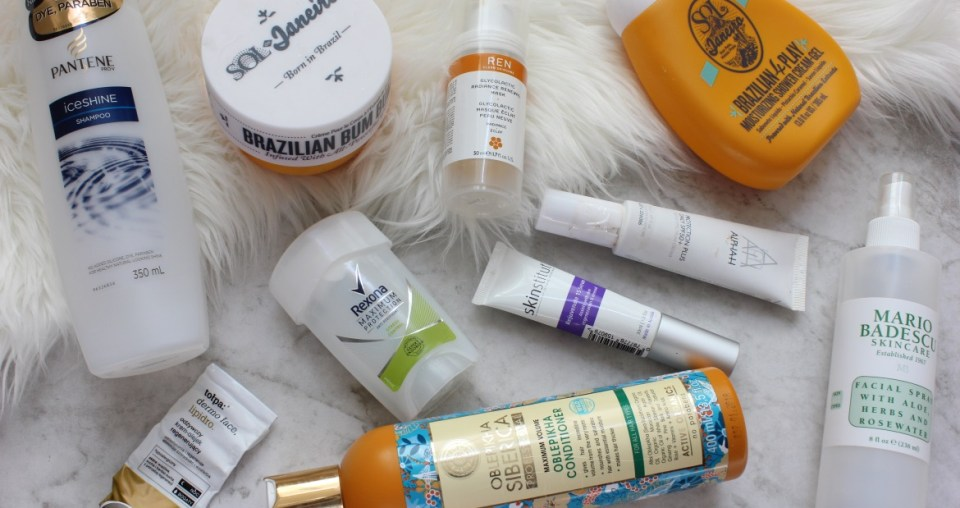 Recent empties – so many favorites to repurchase!